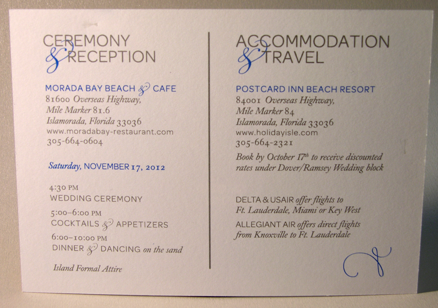 Wedding Accommodation Cards Quotes